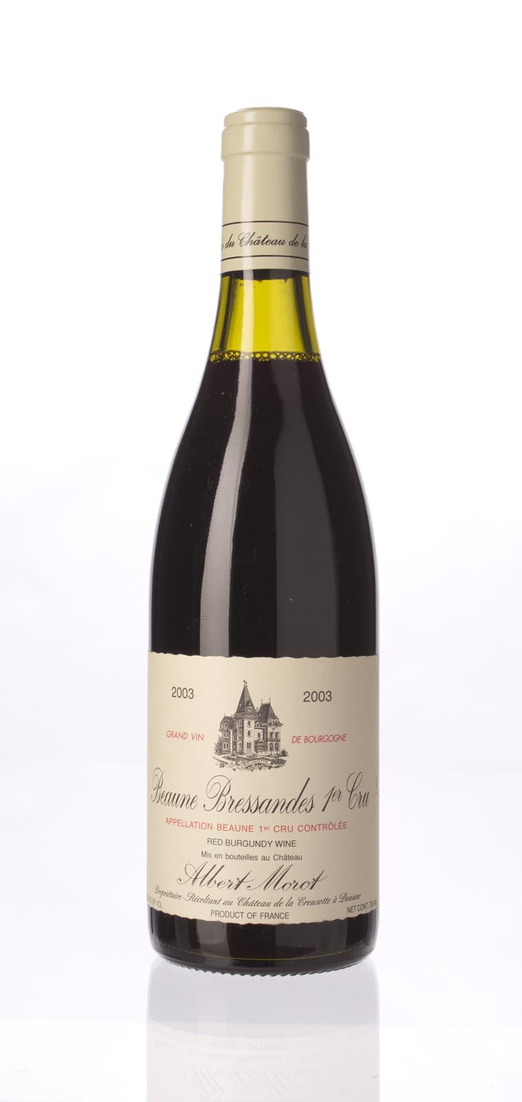 Albert Morot Beaune Bressandes 2003, 750mL (ST91) from The BPW - Merchants of rare and fine wines.