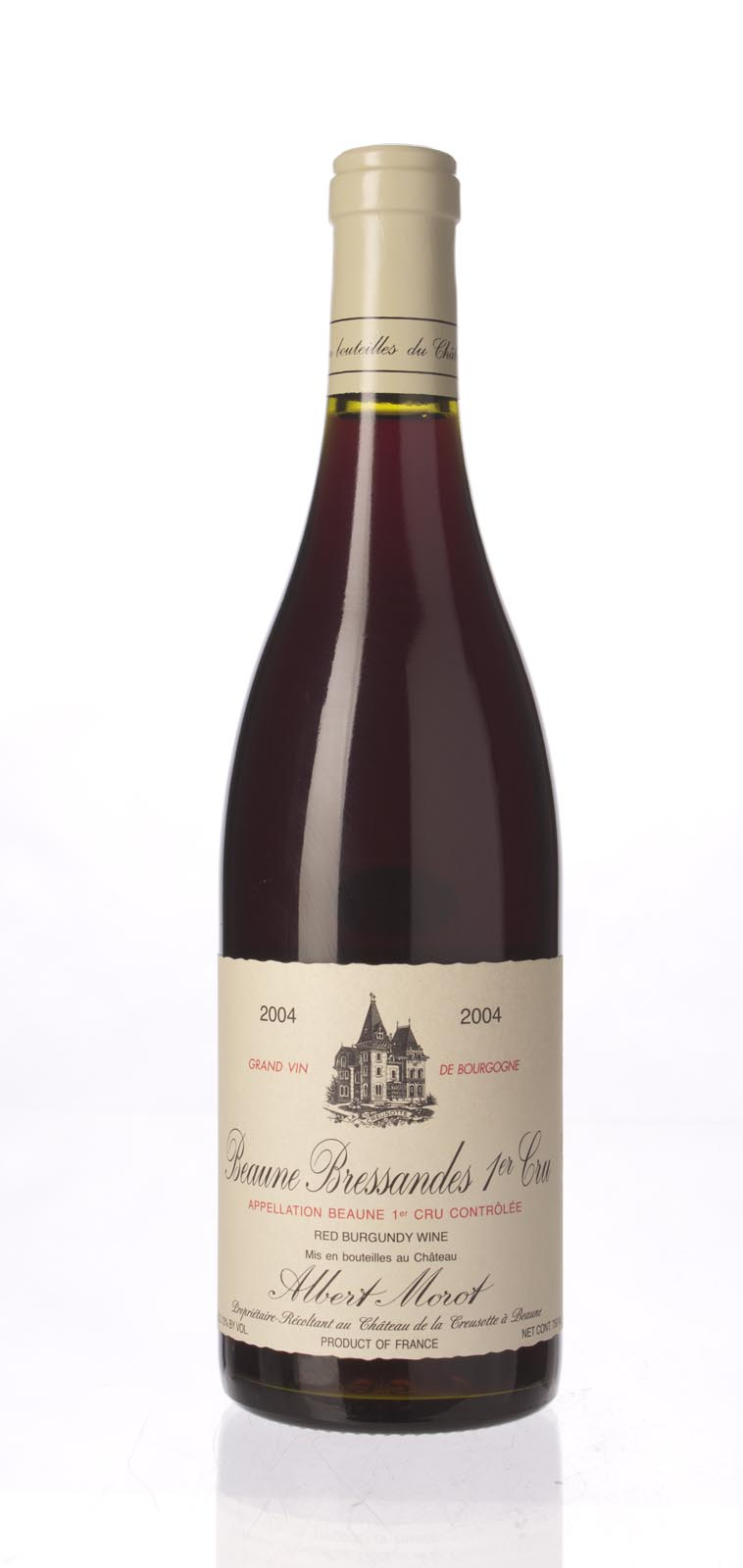 Albert Morot Beaune Bressandes 2004, 750mL (ST89) from The BPW - Merchants of rare and fine wines.