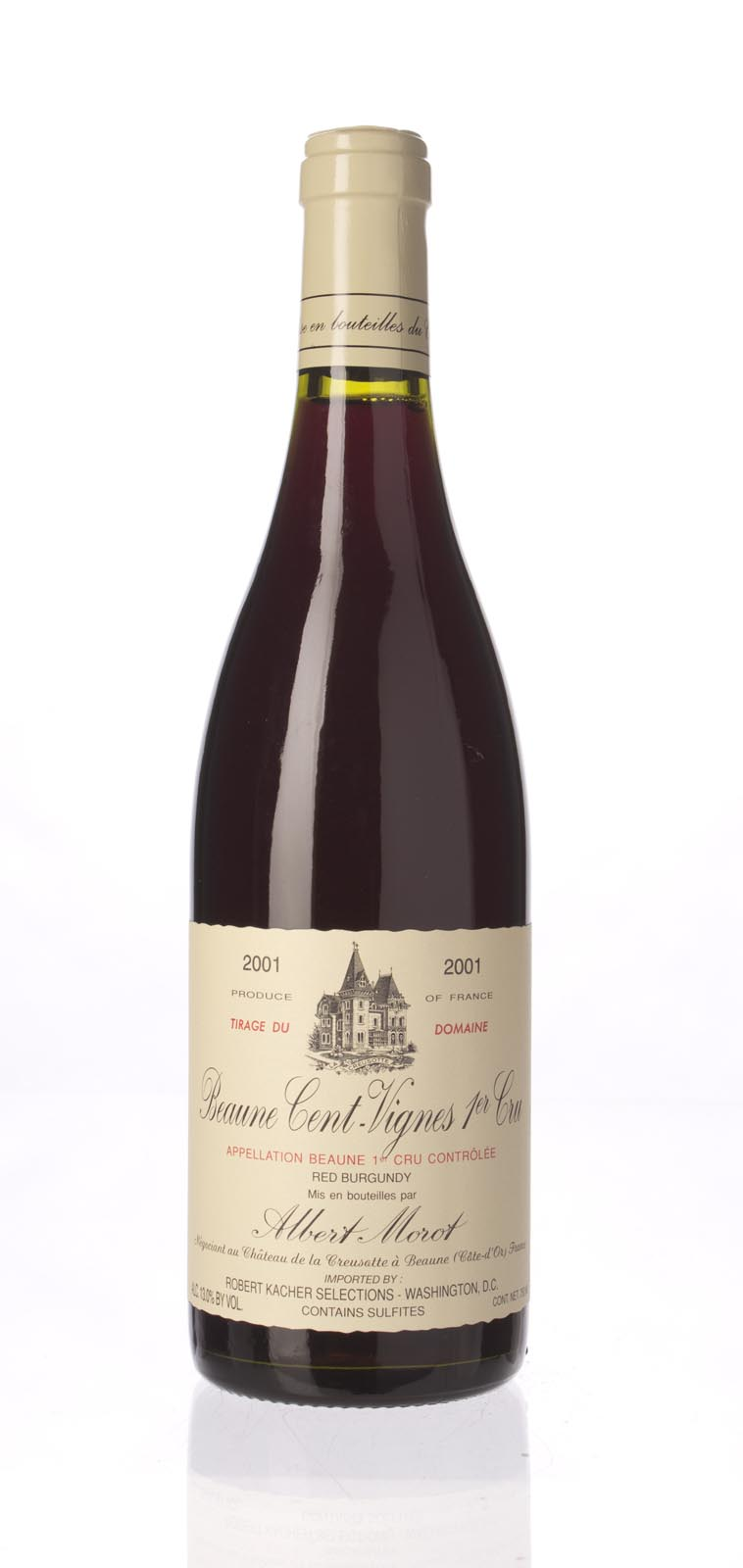 Albert Morot Beaune les Cent Vignes 2001,  () from The BPW - Merchants of rare and fine wines.