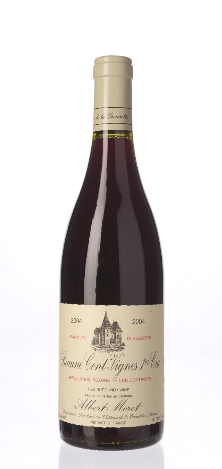 Albert Morot Beaune les Cent Vignes 2004,  () from The BPW - Merchants of rare and fine wines.