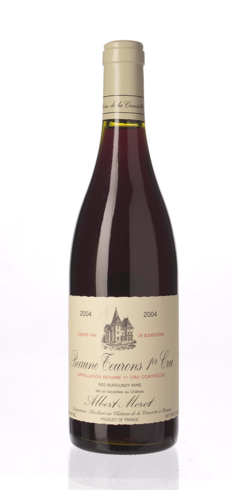 Albert Morot Beaune les Teurons 2004,  (ST88+) from The BPW - Merchants of rare and fine wines.
