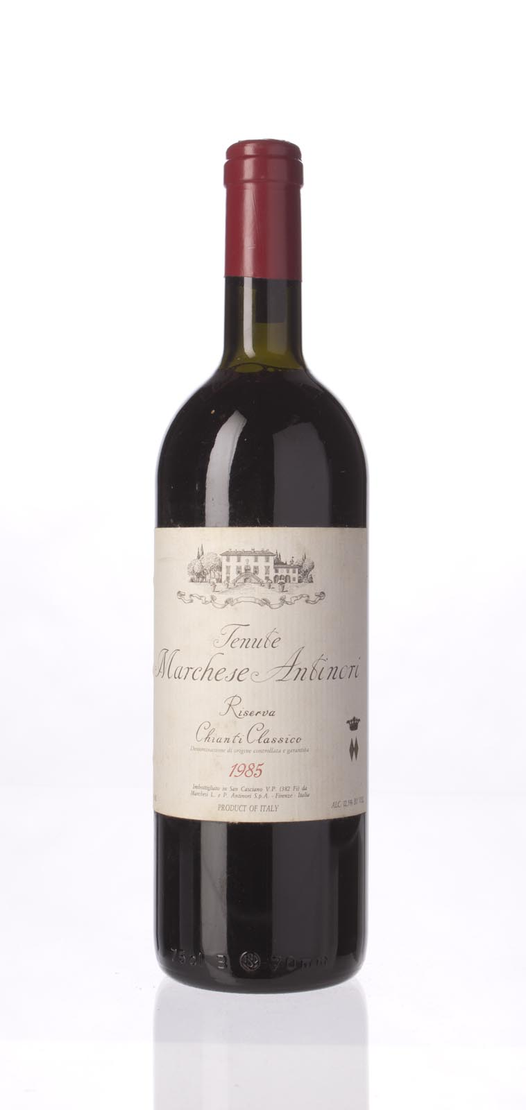Antinori Chianti Classico Riserva Tenute Marchese Antinori 1985,  () from The BPW - Merchants of rare and fine wines.