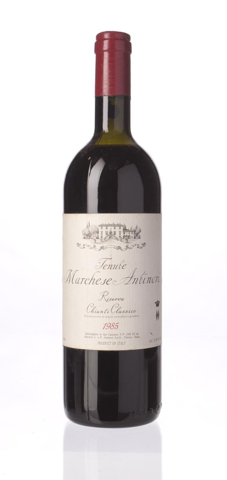 Antinori Chianti Classico Riserva Tenute Marchese Antinori 1985, 750mL () from The BPW - Merchants of rare and fine wines.