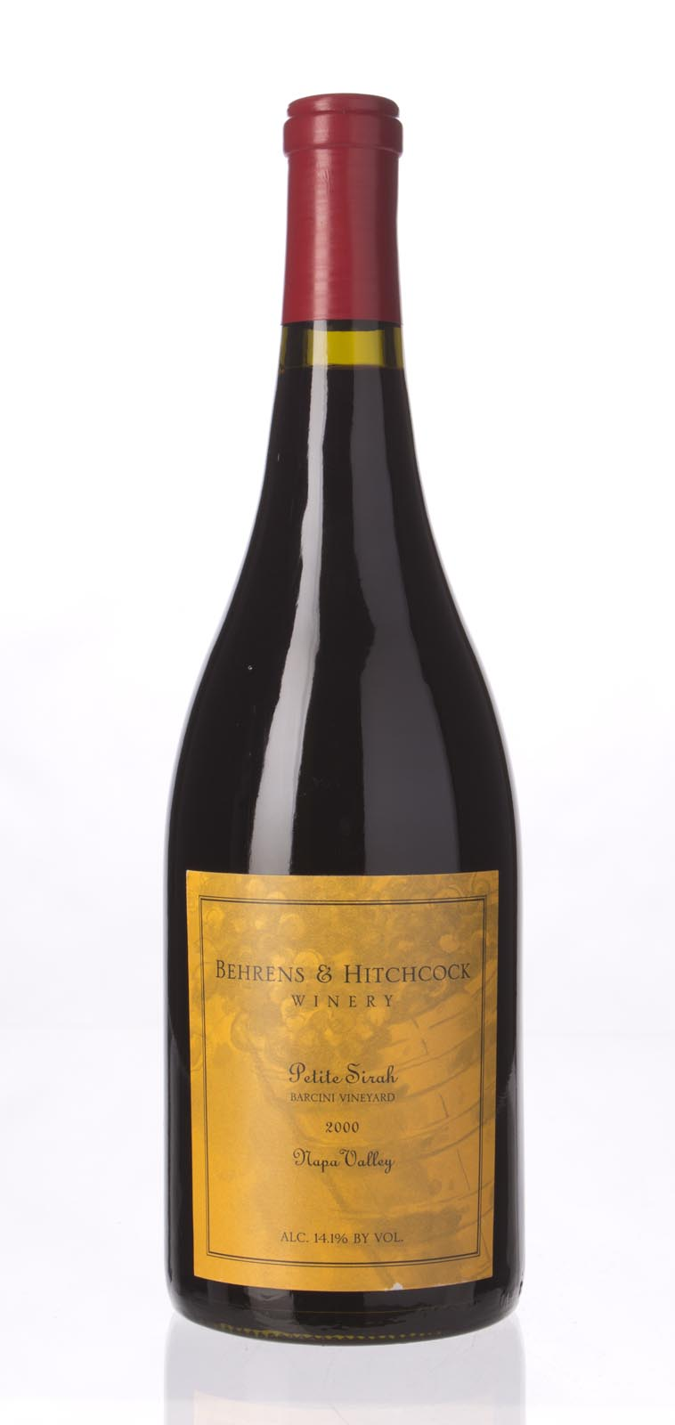 Behrens & Hitchcock Petite Sirah Barcini Vineyard 2000, 750mL () from The BPW - Merchants of rare and fine wines.