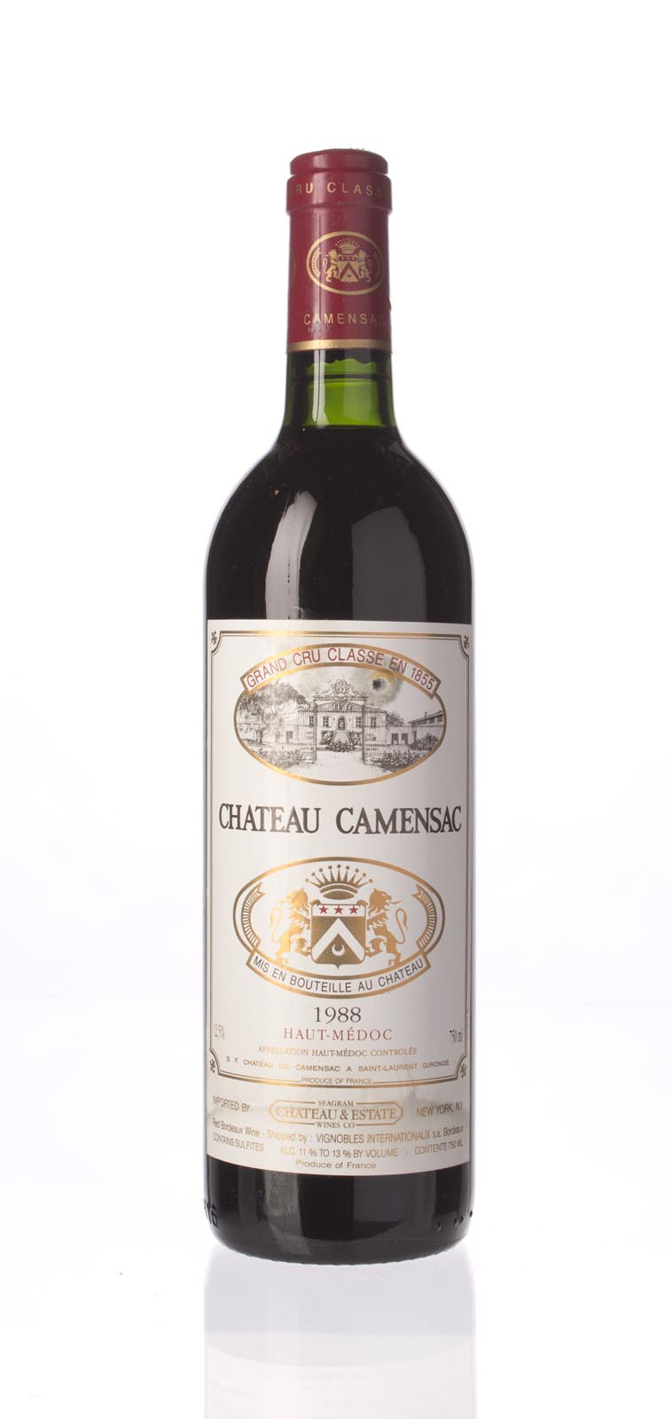 Camensac 1988, 750mL () from The BPW - Merchants of rare and fine wines.