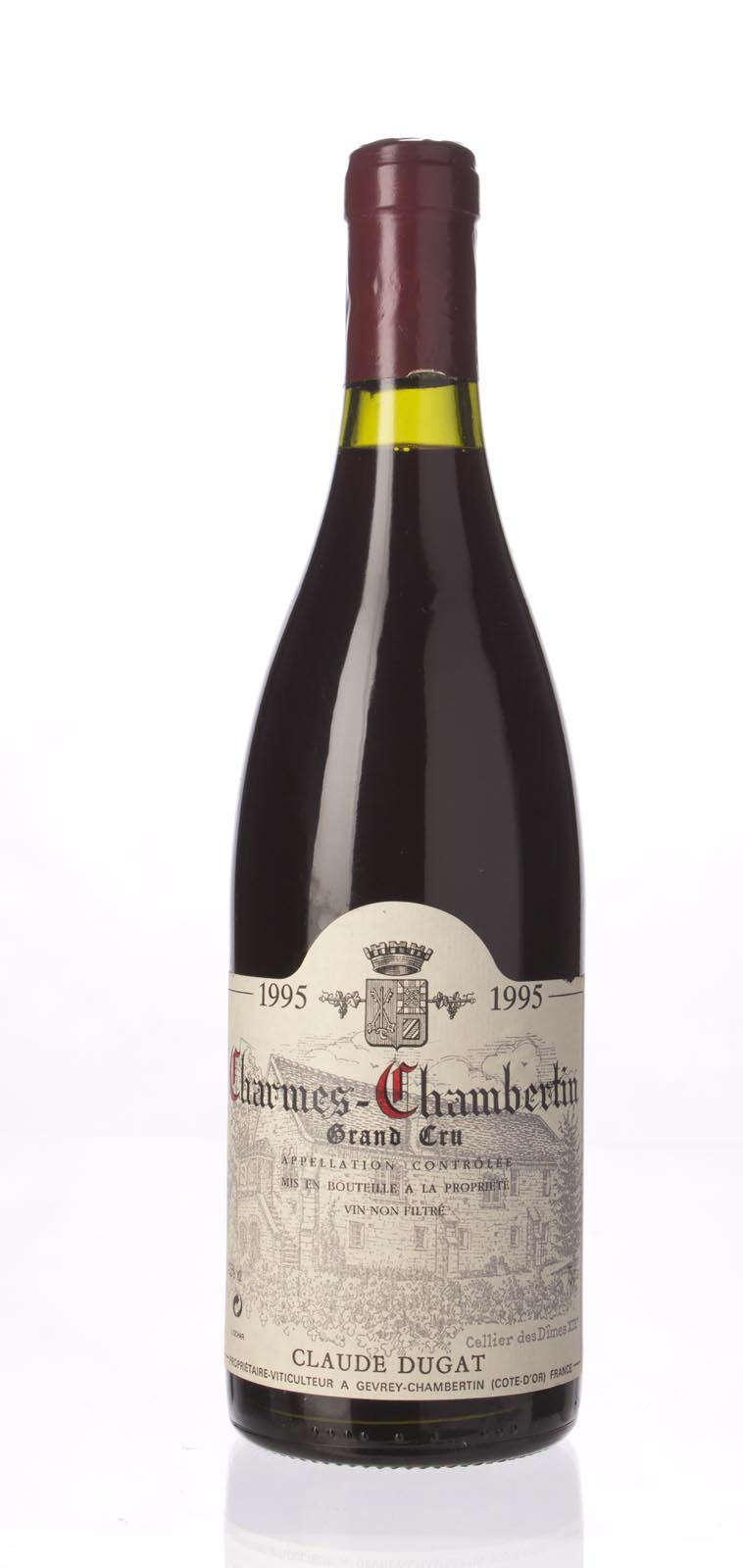 Domaine Claude Dugat Charmes Chambertin 1995, 750mL (WA93-95, ST94) from The BPW - Merchants of rare and fine wines.