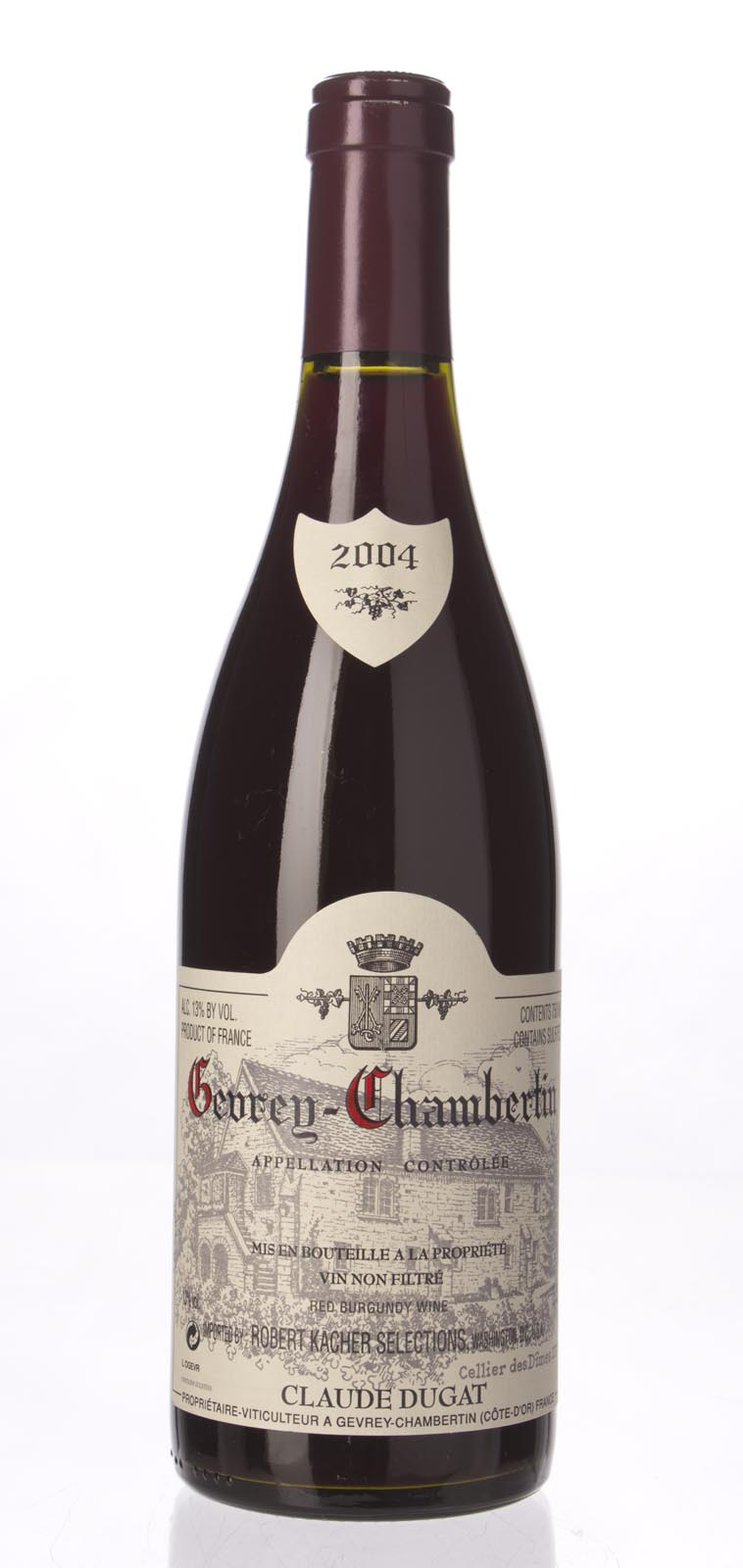 Domaine Claude Dugat Gevrey Chambertin 2004, 750mL (ST88) from The BPW - Merchants of rare and fine wines.