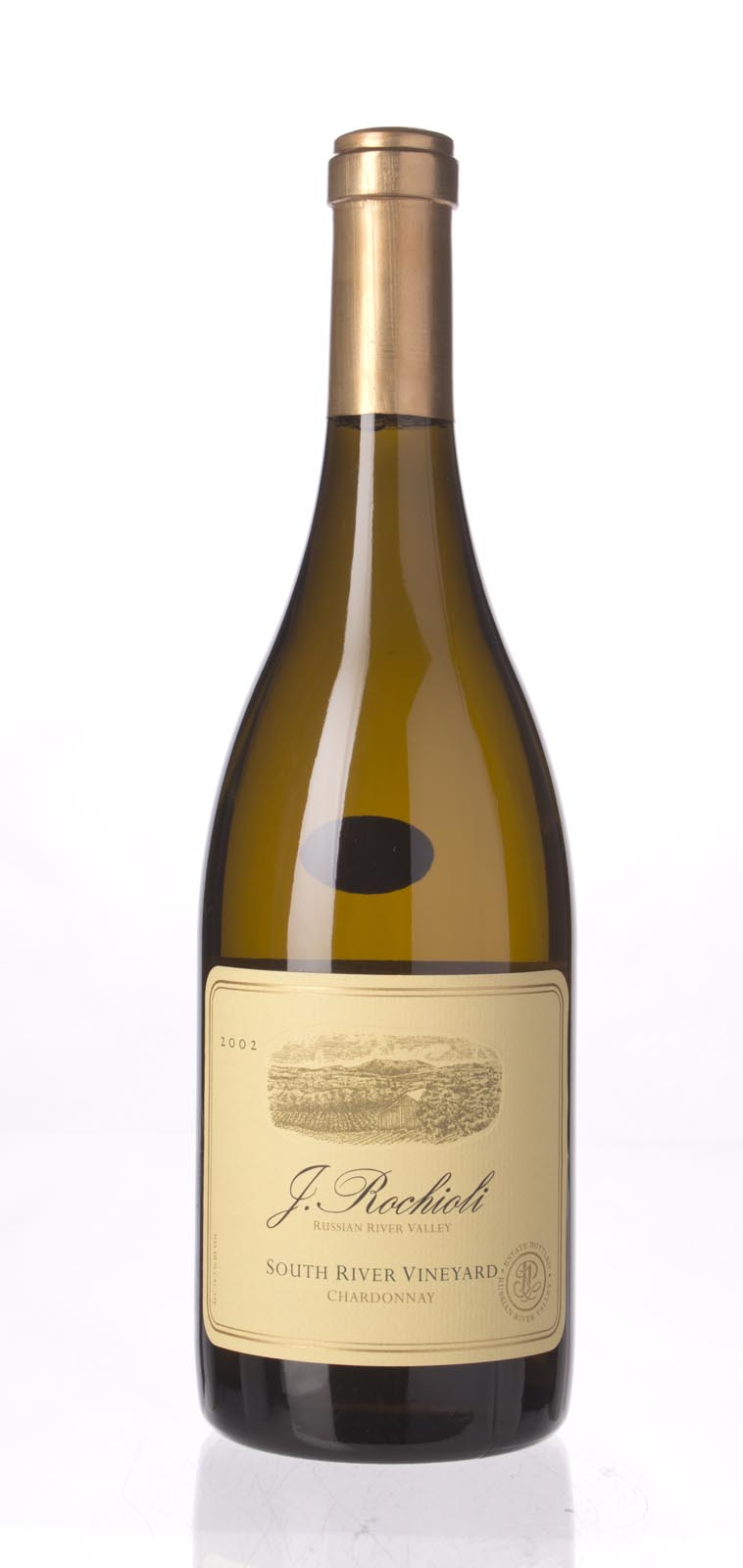 J. Rochioli Chardonnay South River Vineyard 2002, 750mL (WA92) from The BPW - Merchants of rare and fine wines.