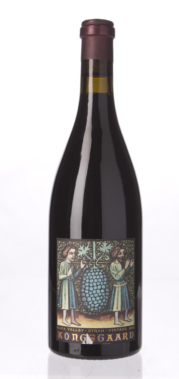 Kongsgaard Syrah Hudson Vineyard 2002, 750mL (WA95, ST94) from The BPW - Merchants of rare and fine wines.