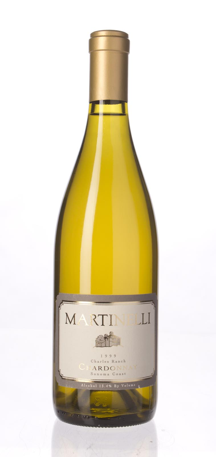 Martinelli Chardonnay Charles Ranch 1999, 750ml (WA90) from The BPW - Merchants of rare and fine wines.