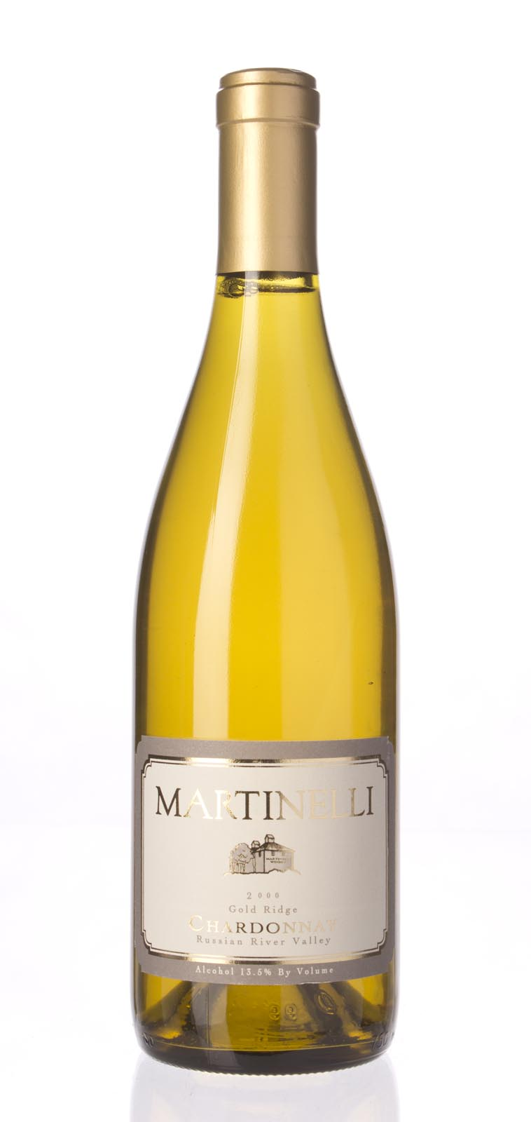 Martinelli Chardonnay Goldridge Vineyard 2000,  (WA90) from The BPW - Merchants of rare and fine wines.