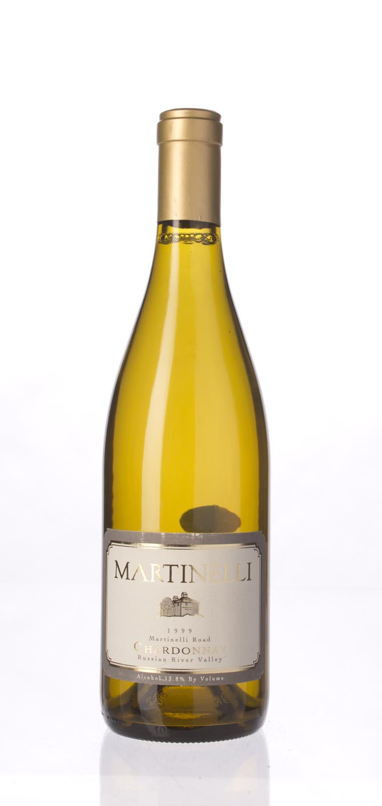 Martinelli Chardonnay Martinelli Road 1999,  (WA91, ST91) from The BPW - Merchants of rare and fine wines.