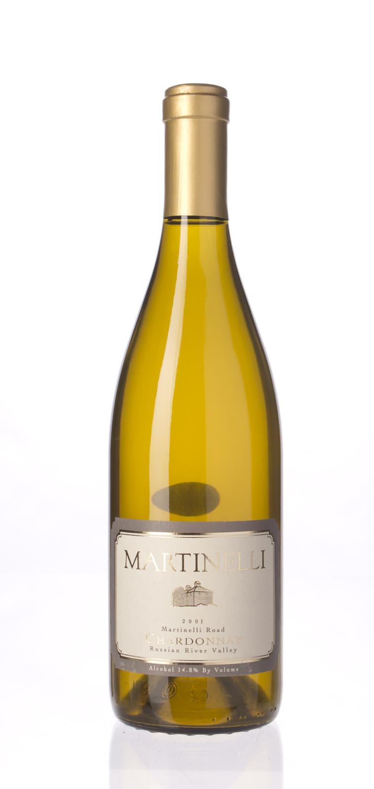 Martinelli Chardonnay Martinelli Road 2001, 750mL (WA91, ST91) from The BPW - Merchants of rare and fine wines.