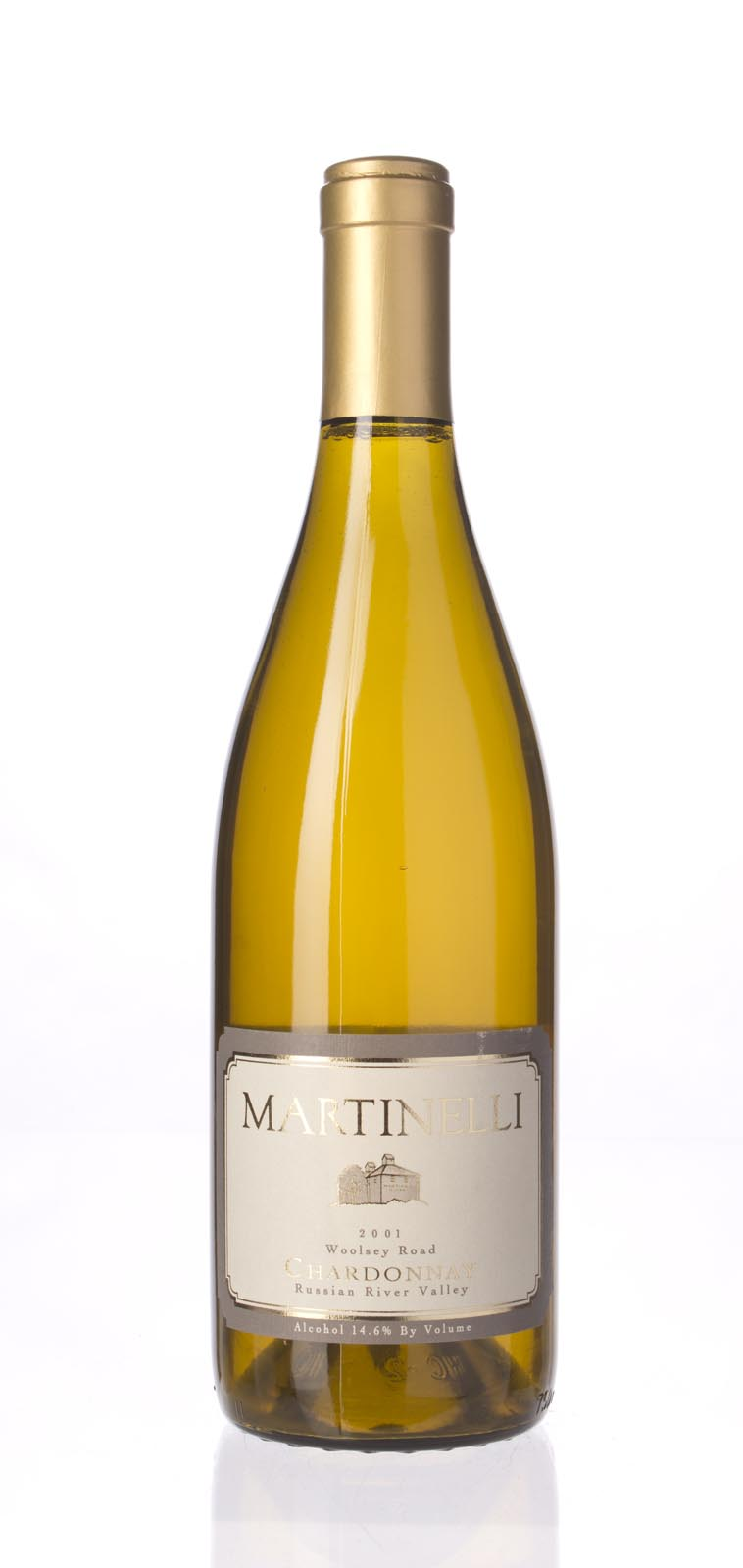 Martinelli Chardonnay Woolsey Road 2001, 750mL (WA91-93) from The BPW - Merchants of rare and fine wines.