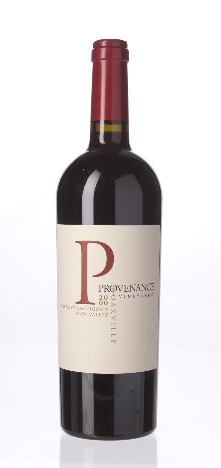 Provenance Cabernet Sauvignon Oakville 2000, 750mL (WS90) from The BPW - Merchants of rare and fine wines.