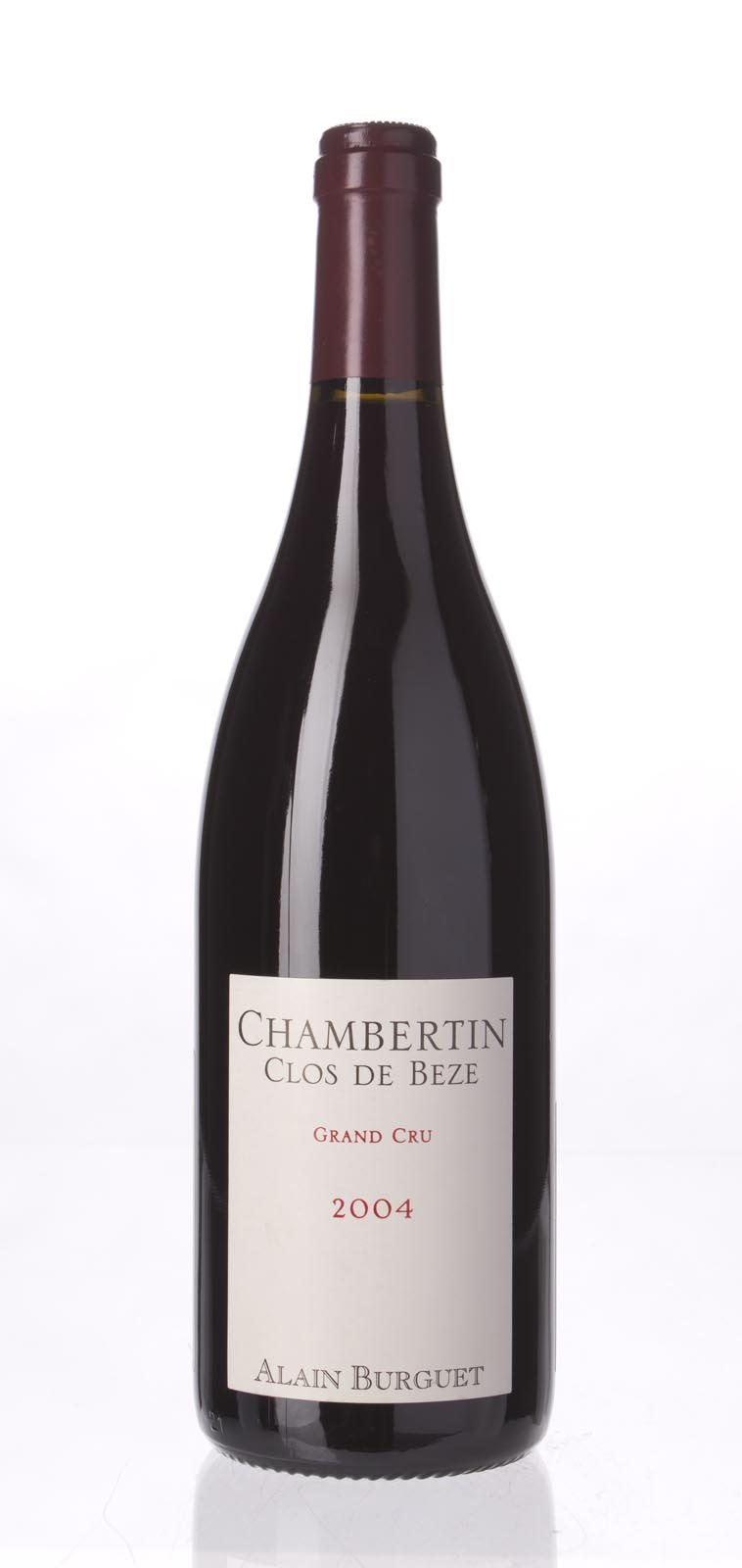 Alain Burguet Chambertin Clos de Beze 2004, 750mL () from The BPW - Merchants of rare and fine wines.
