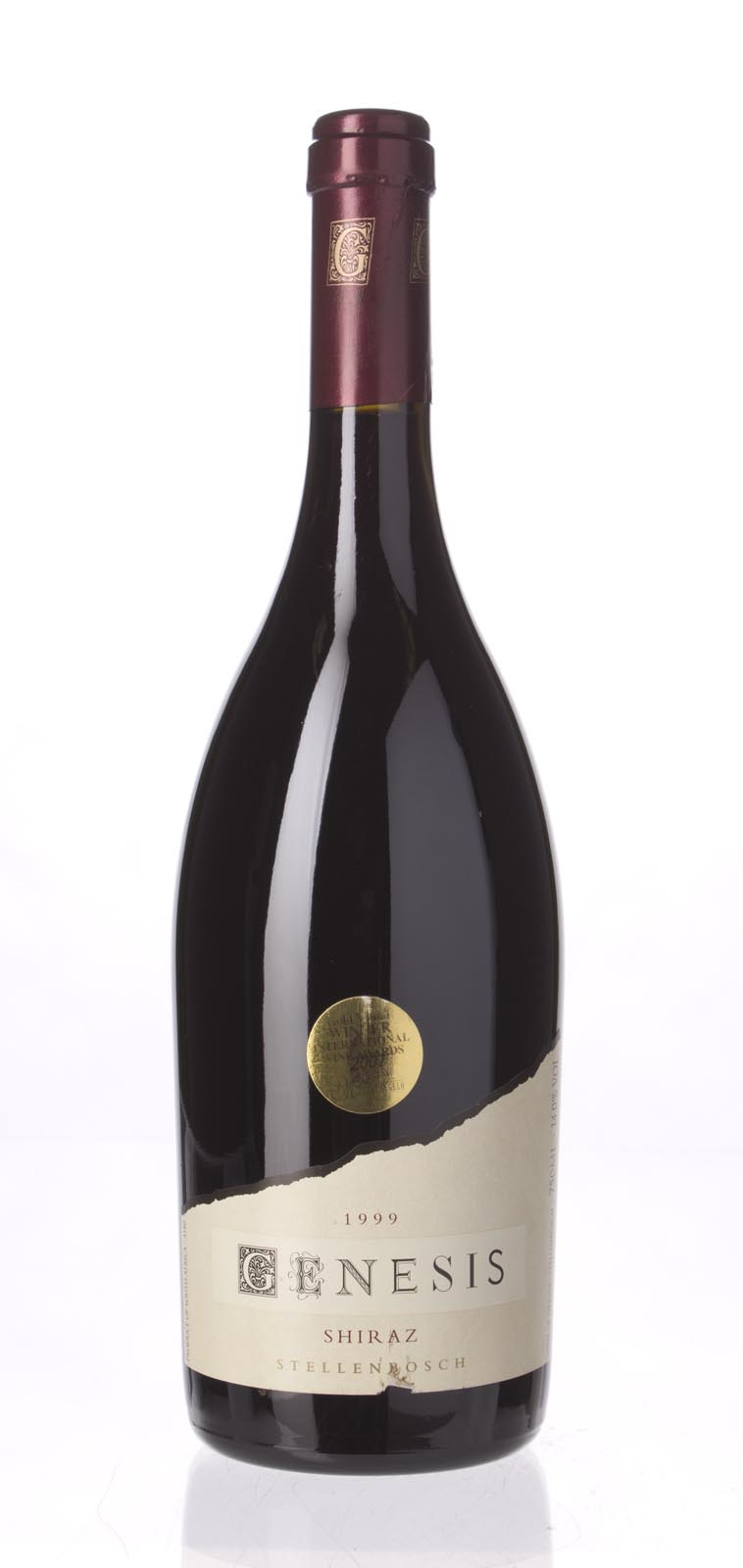 Stellenbosch Vineyards Shiraz Genesis 1999, 750mL () from The BPW - Merchants of rare and fine wines.