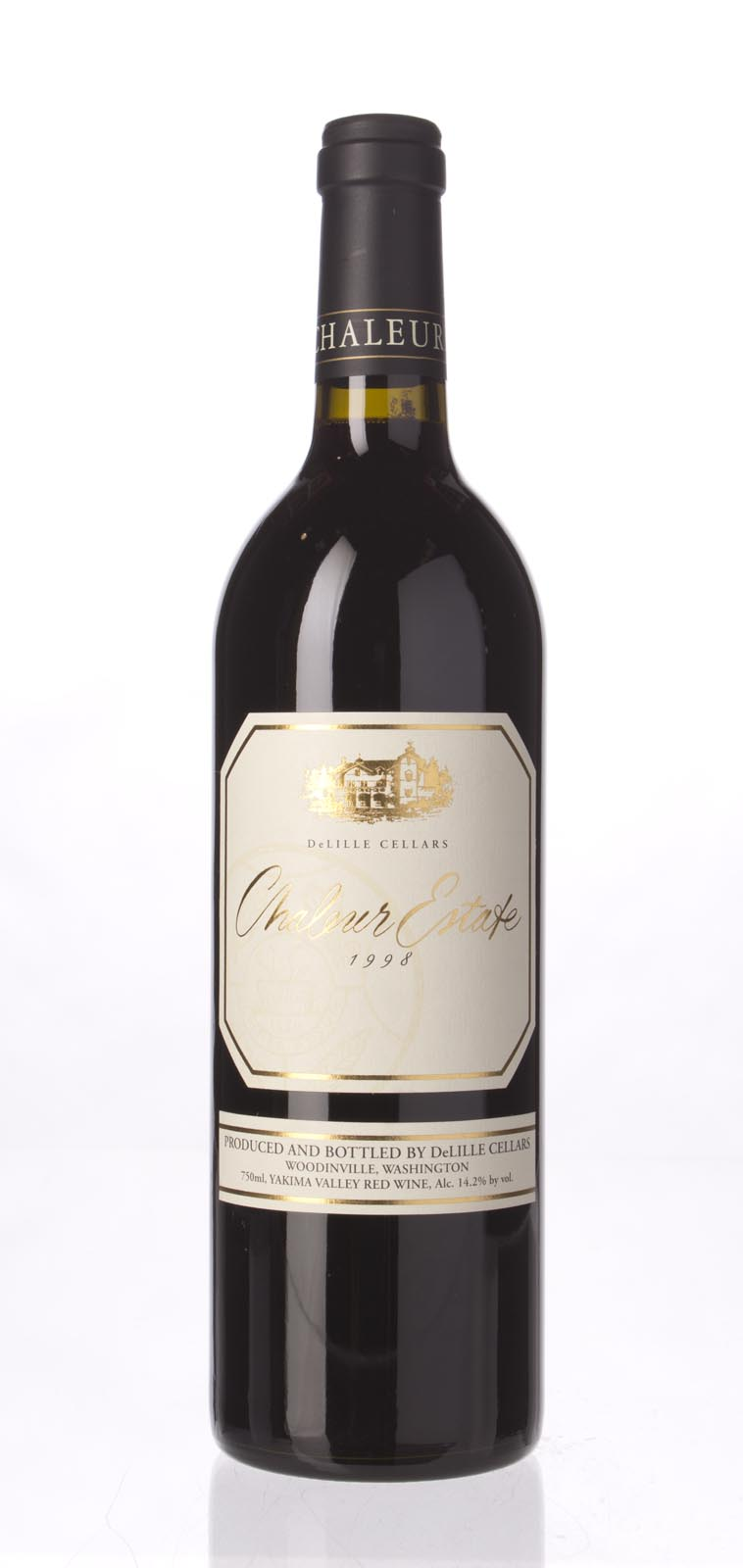 Delille Cellars Proprietary Red Chaleur Estate 1998, 750mL (WA91) from The BPW - Merchants of rare and fine wines.