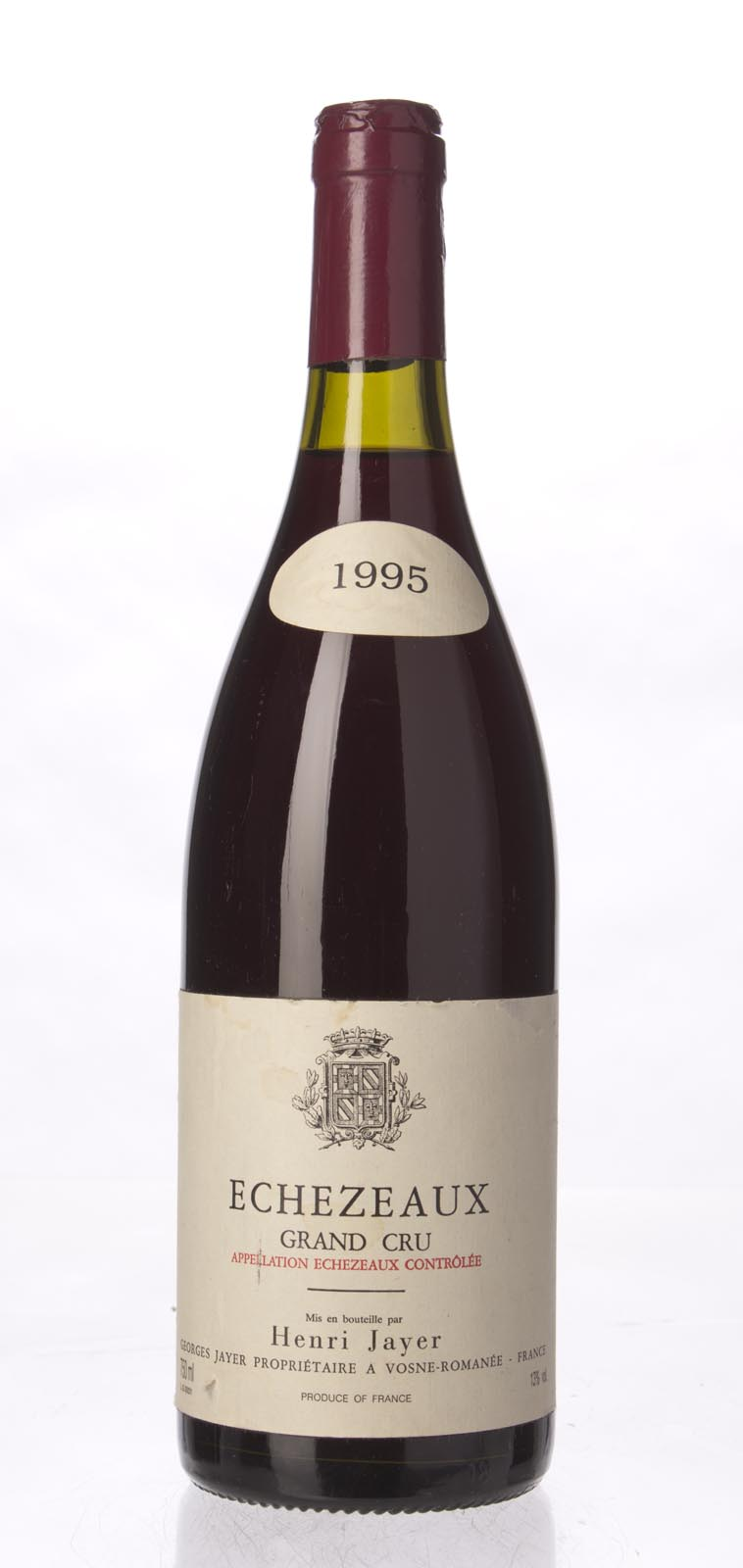Henri Jayer (Georges Jayer) Echezeaux 1995, 750ml (BH93) from The BPW - Merchants of rare and fine wines.
