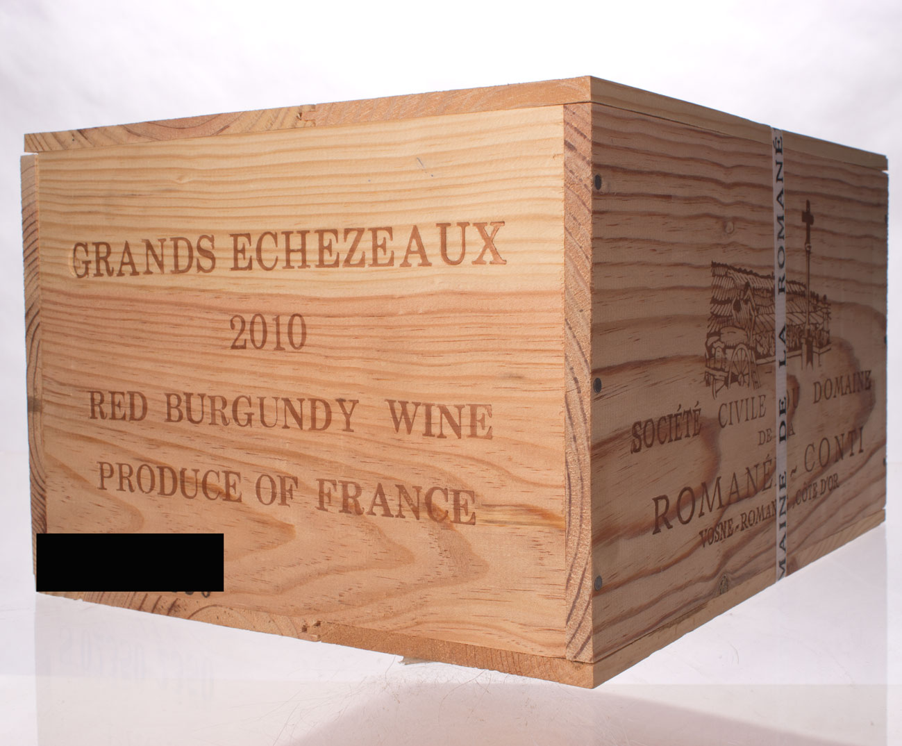 Domaine de La Romanee Conti Grands Echezeaux 6-Pack OWC 2010, 750ml (BH93, WA94-96, ST93) from The BPW - Merchants of rare and fine wines.