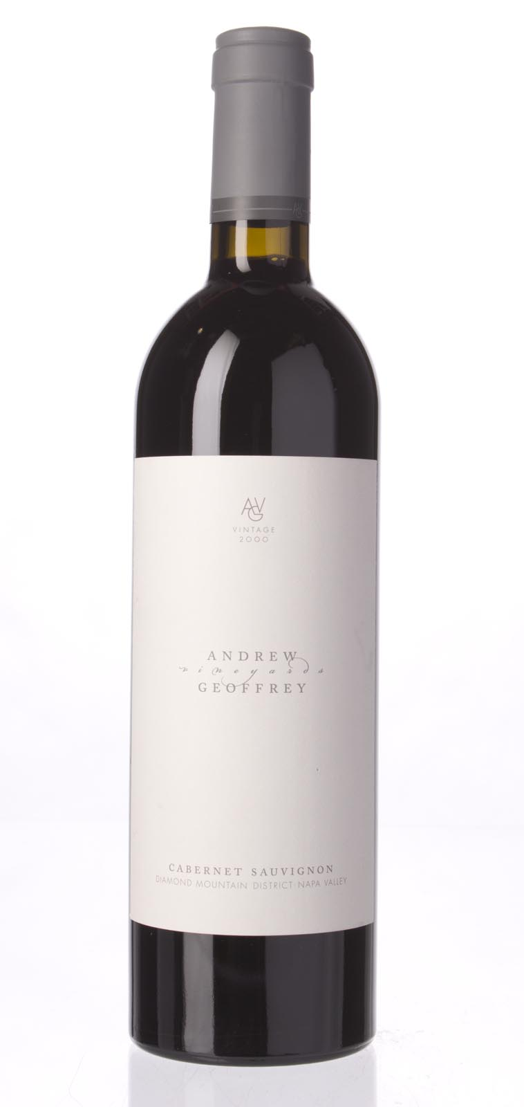 Andrew Geoffrey Cabernet Sauvignon Diamond Mountain District 2000, 750mL () from The BPW - Merchants of rare and fine wines.