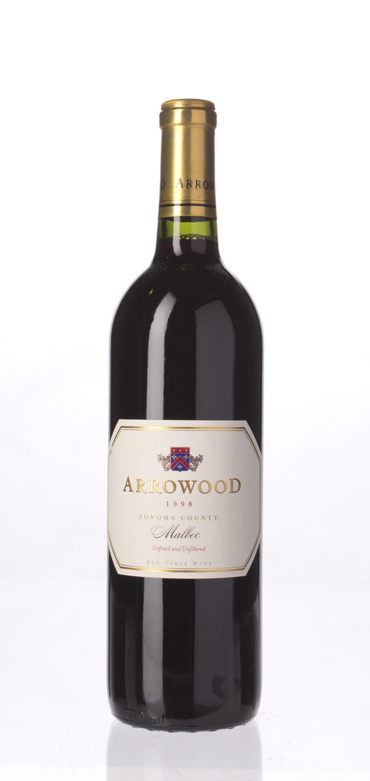 Arrowood Malbec Estate 1998, 750mL () from The BPW - Merchants of rare and fine wines.