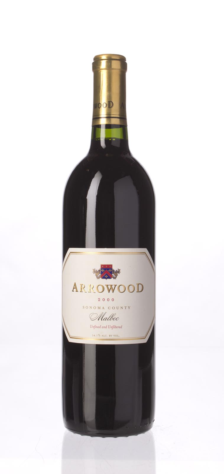 Arrowood Malbec Estate 2000, 750mL () from The BPW - Merchants of rare and fine wines.