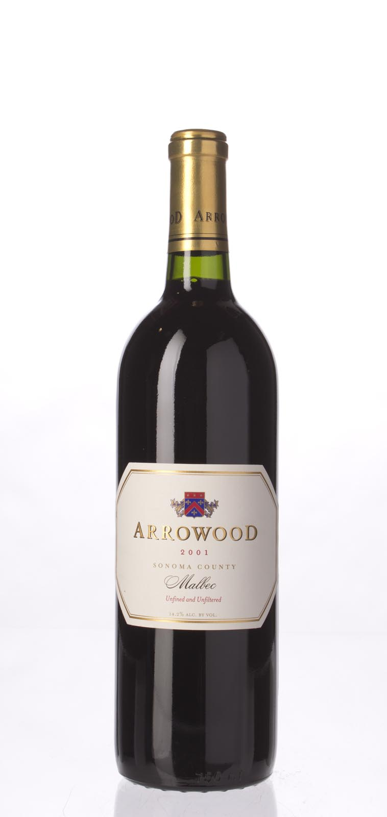 Arrowood Malbec Estate 2001, 750mL (WA89) from The BPW - Merchants of rare and fine wines.