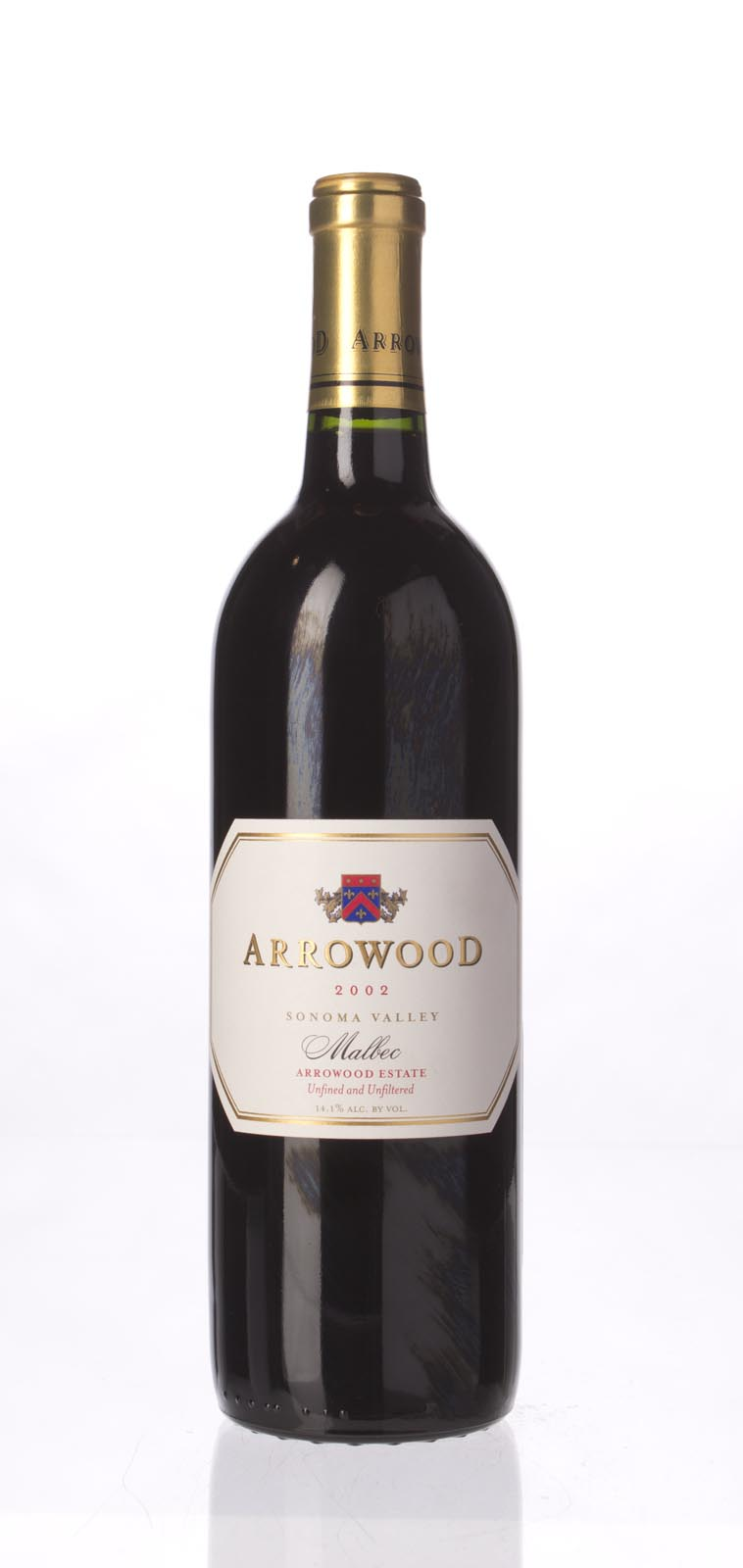 Arrowood Malbec Estate 2002, 750mL () from The BPW - Merchants of rare and fine wines.
