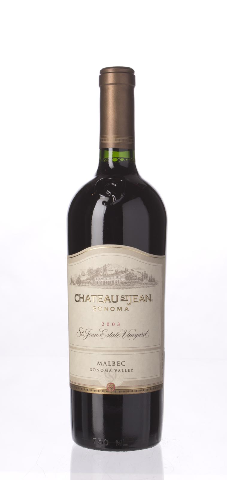 Chateau St. Jean Malbec St. Jean Estate Vineyard 2003, 750mL () from The BPW - Merchants of rare and fine wines.
