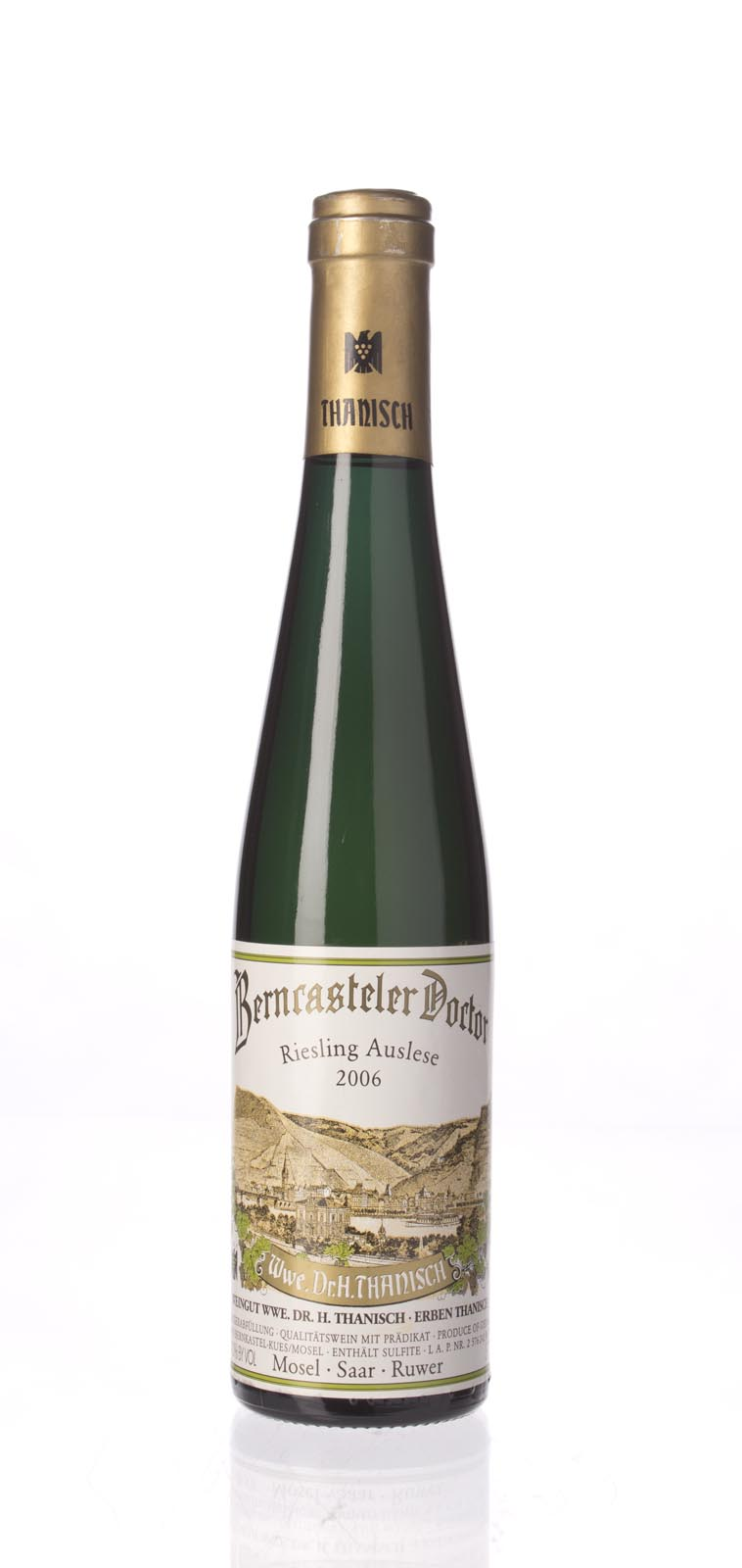 Dr. H. Thanisch Bernkasteler Doctor Riesling Auslese 2006, 375ml (WA91) from The BPW - Merchants of rare and fine wines.
