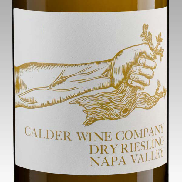 2015 Dry Riesling Rutherford, Napa Valley - Calder Wine Company