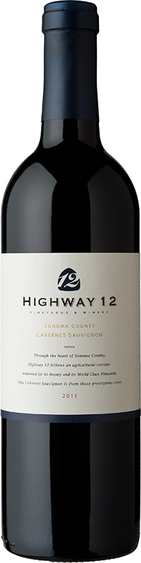 2013 Highway 12 Cabernet Sauvignon  - Highway 12 Vineyards & Winery