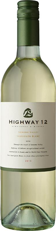 2014 Highway 12 Sauvignon Blanc Sonoma Valley - Highway 12 Vineyards & Winery