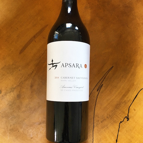 Apsara  'Amoenus Vineyard' Cabernet Sauvignon 2014  - K. Laz Wine Collection