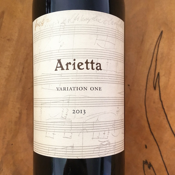 Arietta Variation One Red 2013  Napa Valley - K. Laz Wine Collection
