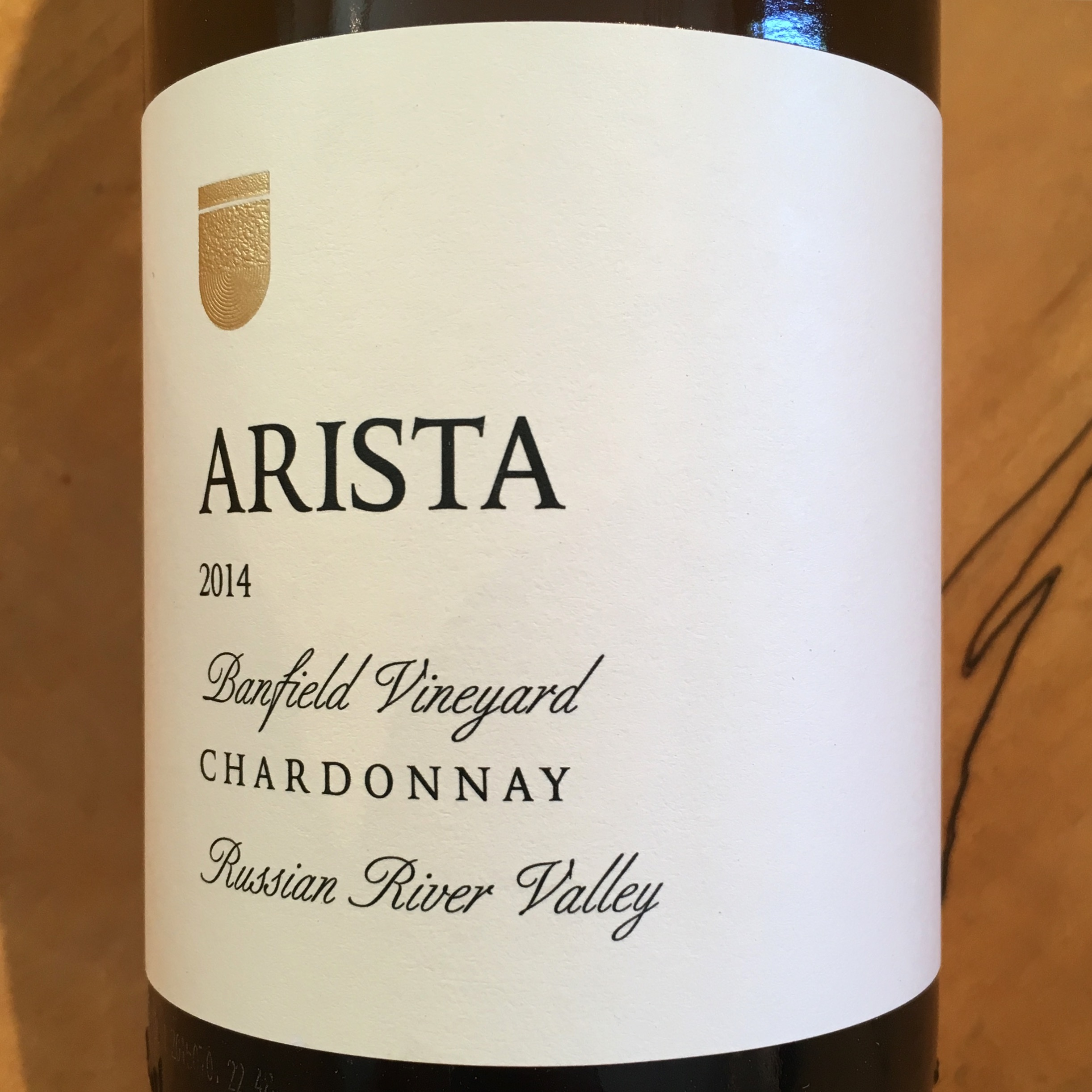 Arista Banfield Vineyard Chardonnay 2014 Russian River Valley - K. Laz Wine Collection