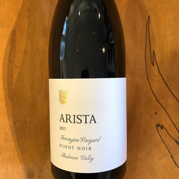 Arista  'Ferrington Vineyard' Pinot Noir 2015 - K. Laz Wine Collection