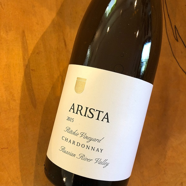 Arista  Ritchie Vineyard Chardonnay 2015 - K. Laz Wine Collection