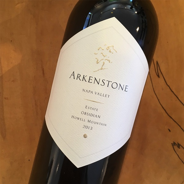 Arkenstone 'Obsidian' Estate Red 2013 Howell  Mountain - K. Laz Wine Collection