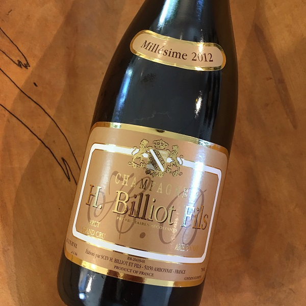H. Billiot Fis 'Millesime' 2012 Brut Ambonnay - K. Laz Wine Collection