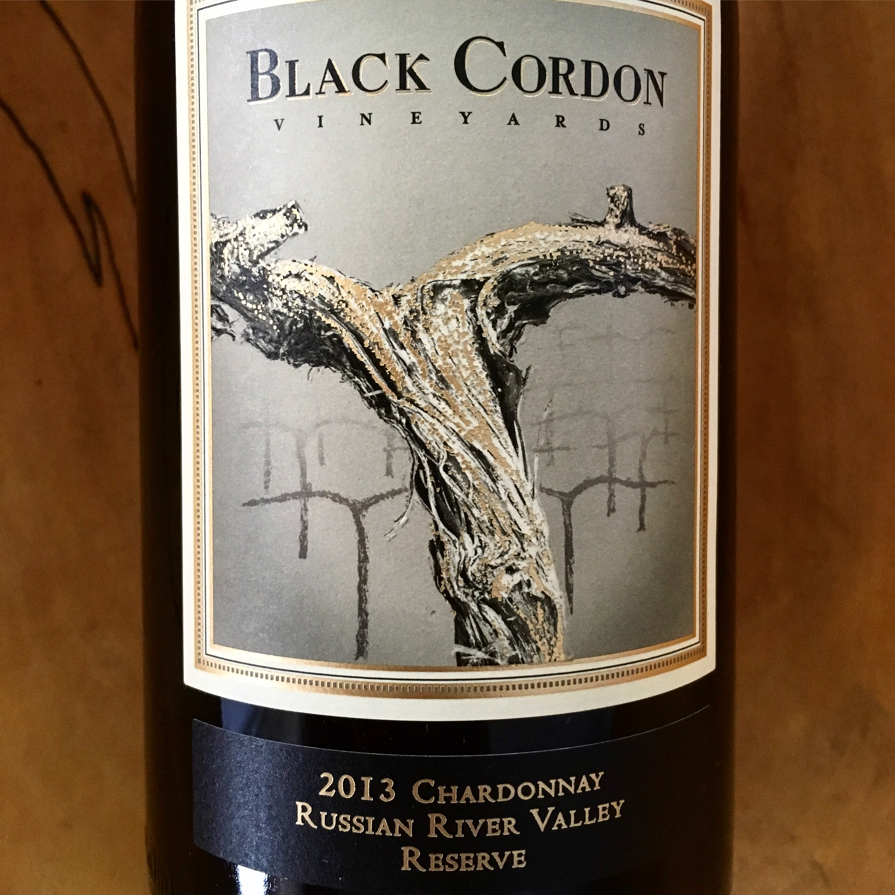 Black Cordon Chardonnay 2013 Russian River Valley - K. Laz Wine Collection