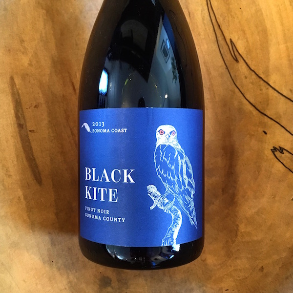 Black Kite Sonoma Coast Pinot Noir 2013  Sonoma Coast  - K. Laz Wine Collection