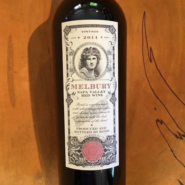 BOND 'Melbury' Red 2014 Rutherford - K. Laz Wine Collection