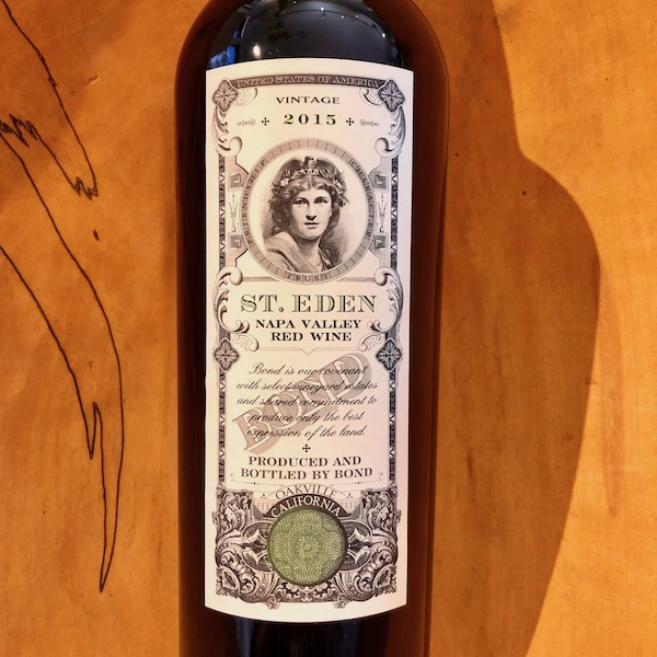 BOND St. Eden Red 2015 - K. Laz Wine Collection