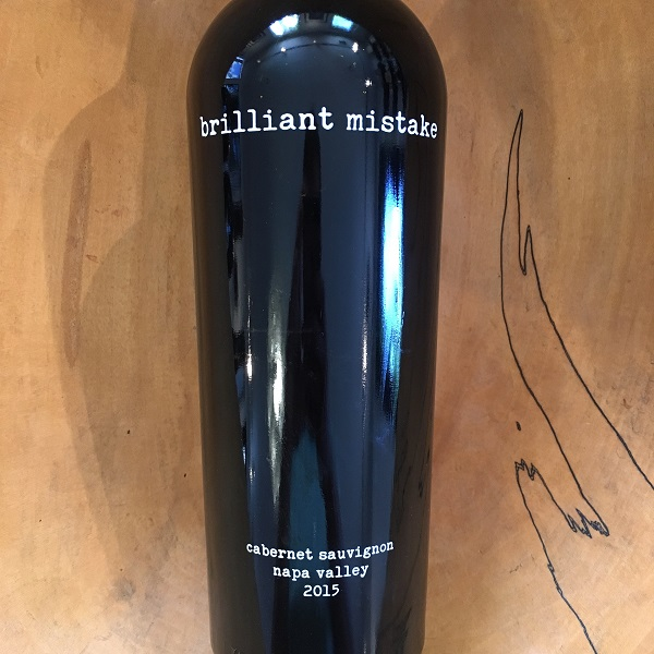Brilliant Mistake  Cabernet Sauvignon 2015 - K. Laz Wine Collection