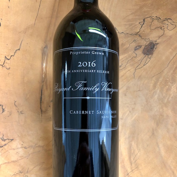 Bryant Family Vineyard Cabernet Sauvignon 2016 - K. Laz Wine Collection