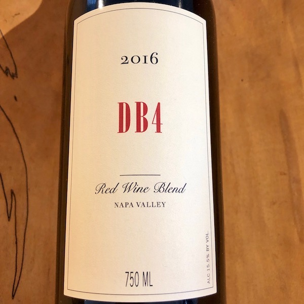 Bryant Family Vineyard  'DB4' Red 2016 - K. Laz Wine Collection