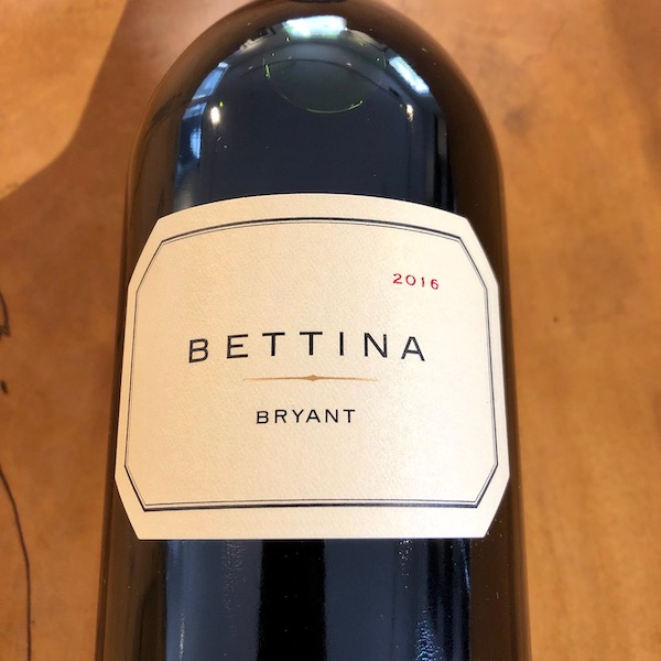Bryant Family Vineyard Bettina Bryant Red 2016 - K. Laz Wine Collection