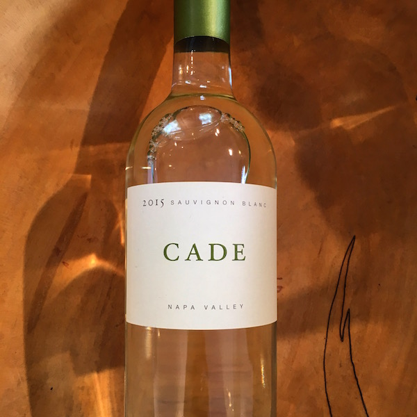 Cade Sauvignon Blanc 2015  Napa Valley  - K. Laz Wine Collection
